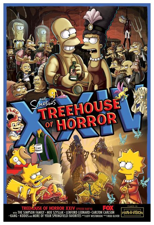Os Simpsons Treehouse of Horror XXIV